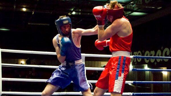 XI Международный турнир по боксу, посвященный 31-й годовщине создания Донецкого спортивного клуба любителей бокса Золотые перчатки - Sputnik Абхазия