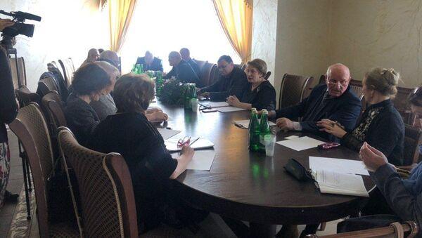 Круглый стол в Россотрудничестве - Sputnik Абхазия