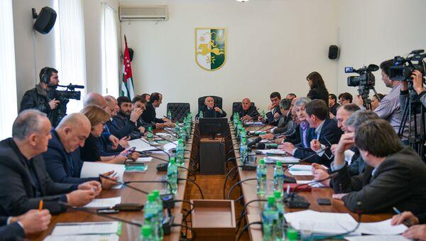 Заседание парламента, 25 февраля 2019 года - Sputnik Абхазия