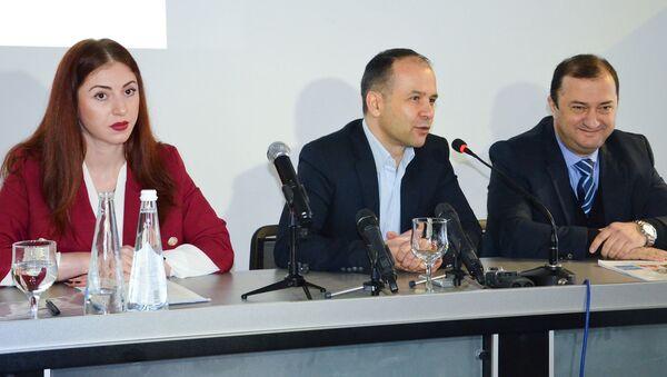 Пресс-конференция фонда Апсны - Sputnik Абхазия