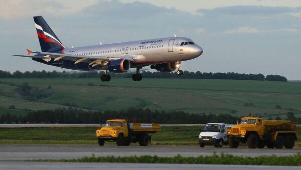 Самолет авиакомпании Аэрофлот - Sputnik Абхазия