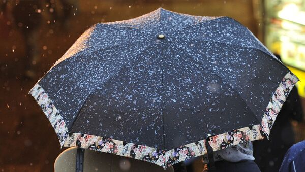 Дождь со снегом - Sputnik Абхазия