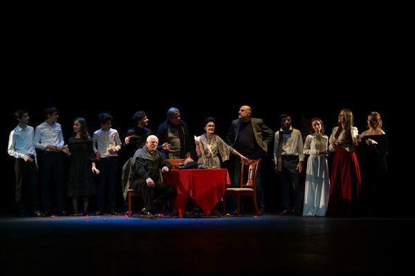 Творческий поэтический вечер Шедевры абхазской поэзии в драмтеатре - Sputnik Абхазия