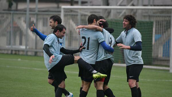 Футбол. Суперкубок Абхазии. Матч между командами Гагра -  Нарт - Sputnik Абхазия