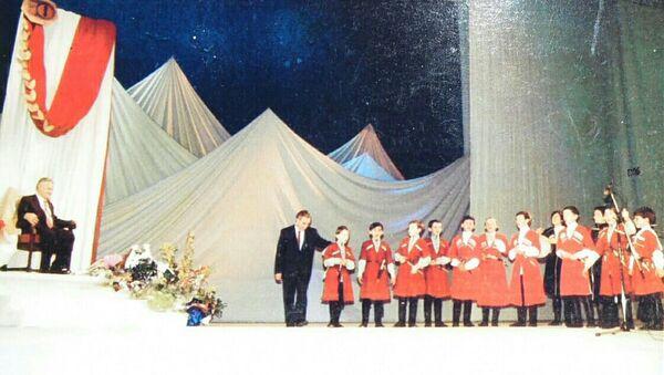 Фазиль Искандер 70-шықәса ихыҵра аиубилеи, Москва - Sputnik Аҧсны