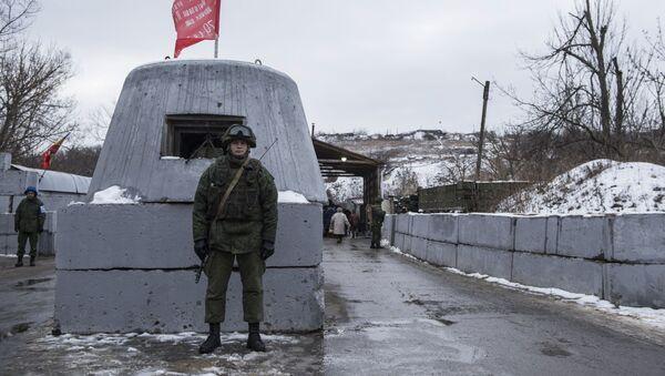 КПП в Станице Луганской - Sputnik Абхазия