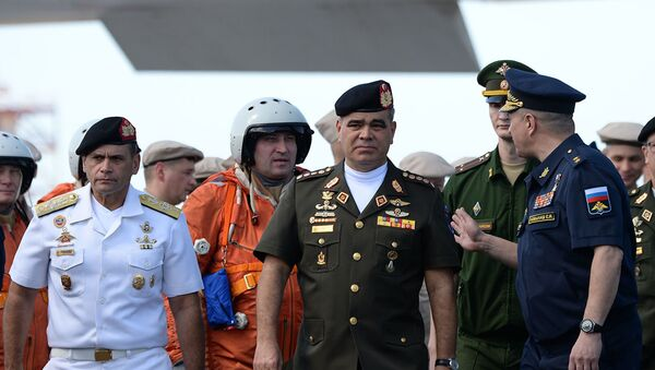 Министр обороны Венесуэлы Владимир Падрино Лопес . Архивное фото - Sputnik Абхазия