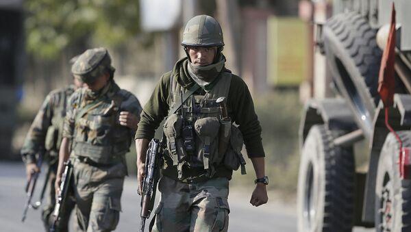 Индийские военные. Архивное фото - Sputnik Абхазия