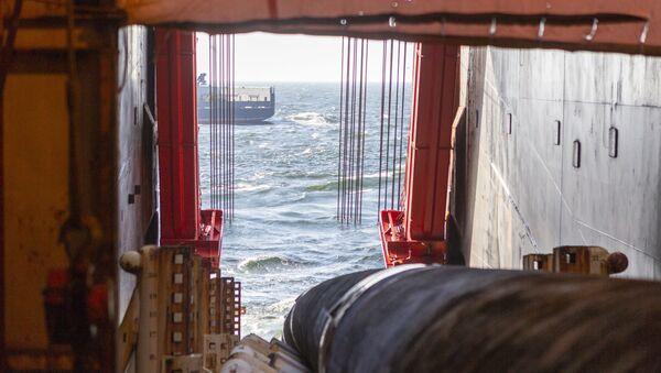 «Северный поток-2» в Финском заливе - Sputnik Абхазия