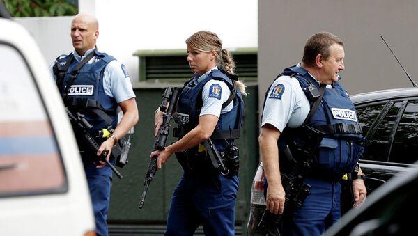 Полиция в Новой Зеландии - Sputnik Абхазия