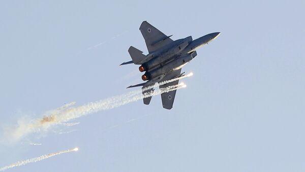 Израильский истребитель F-15. Архивное фото - Sputnik Абхазия