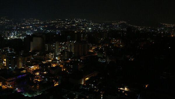 Отключение электричества и воды в Каракасе - Sputnik Абхазия
