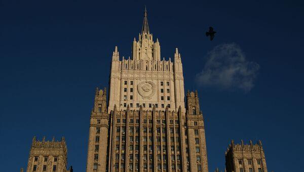 Здание Министерства иностранных дел (МИД). - Sputnik Абхазия