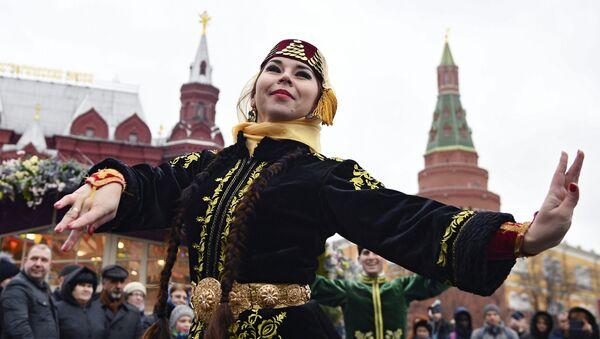 Участница фестиваля Крымская весна в Москве - Sputnik Абхазия