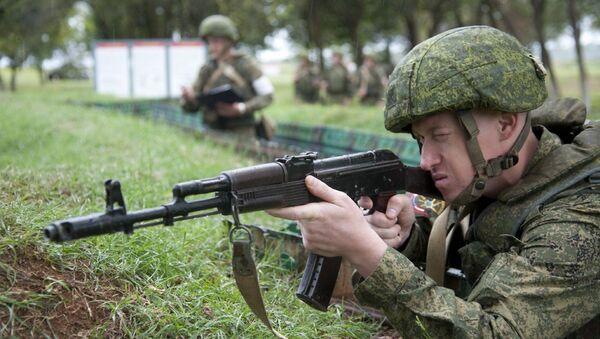 Российская военная база в Абхазии - Sputnik Абхазия