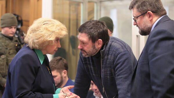 Заседание суда по делу журналиста К. Вышинского в Киеве - Sputnik Абхазия