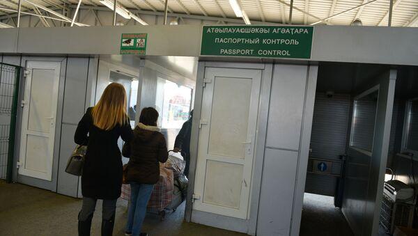 КПП Псоу - Sputnik Абхазия