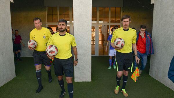 Матч между командами  Динамо и Гагра состоялся на стадионе Динамо  - Sputnik Абхазия