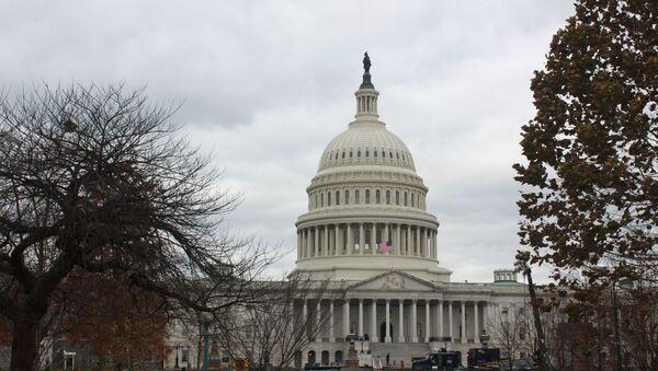 Здание Конгресса в Вашингтоне - Sputnik Абхазия