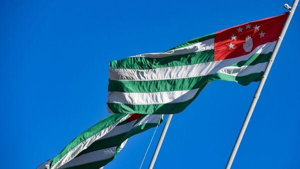 Абхазский флаг - Sputnik Аҧсны