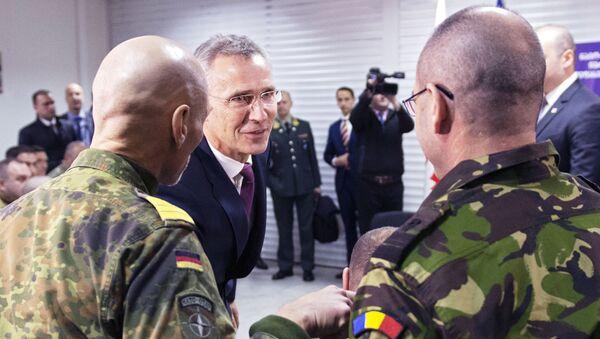 Генеральный секретарь НАТО Йенс Столтенберг , 25 марта 2019 - Sputnik Абхазия