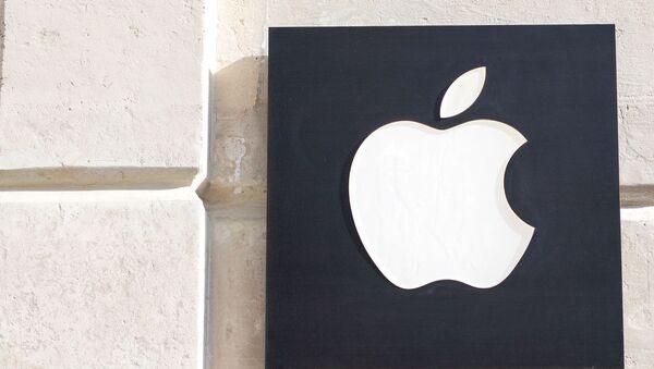 Знак Apple на фасаде дома - Sputnik Аҧсны