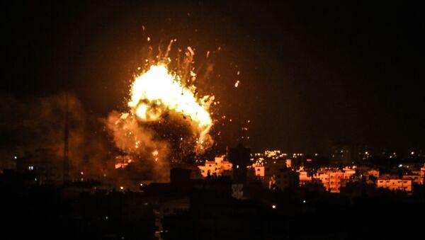 Израиль и сектор Газа обменялись ракетными ударами - Sputnik Абхазия