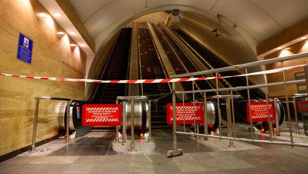 Вестибюль станции метро Сенная площадь в Санкт-Петербурге, где произошел взрыв. - Sputnik Абхазия