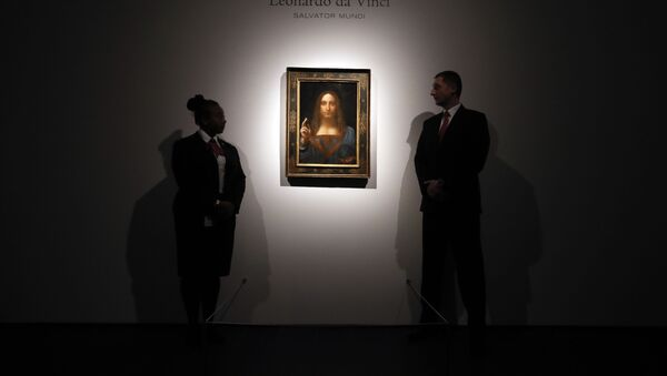 Картина Леонардо да Винчи Спаситель мира. Архивное фото - Sputnik Абхазия