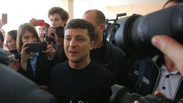 Украина ахадарахьы акандидат Владимир Зеленски - Sputnik Аҧсны