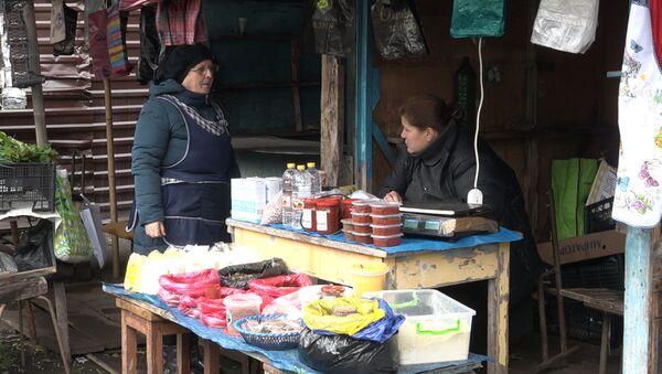 Рынок трудов: как проходит базарный день в Ткуарчале - Sputnik Абхазия