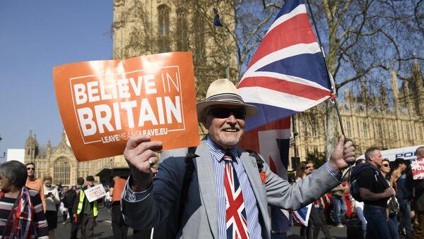 Акция сторонников Brexit в Лондоне - Sputnik Аҧсны