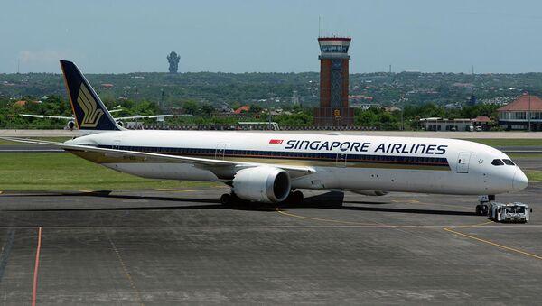 Самолет Boening 787-10 Dreamliner авиакомпании Singapore Airlines - Sputnik Аҧсны