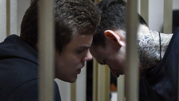 Заседание суда по делу П. Мамаева и А. Кокорина - Sputnik Абхазия