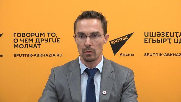 Максим Забалуев о работах по поиску без вести пропавших в годы Отечественной войны народа Абхазии - Sputnik Абхазия