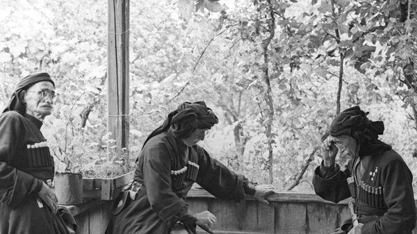 Долгожители из абхазского села Джерда - Sputnik Аҧсны