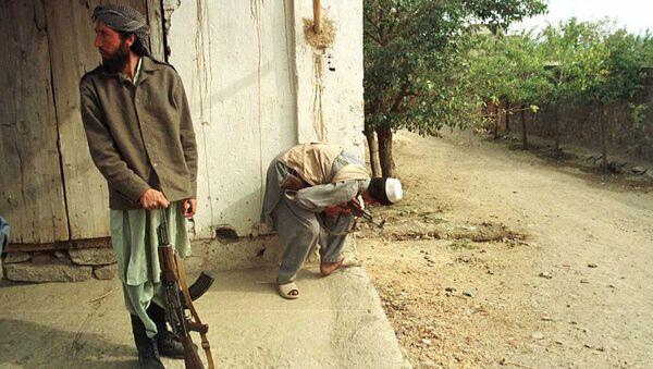 Талибы недалеко от Кабула . Архивное фото - Sputnik Абхазия