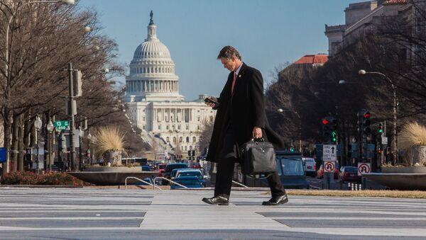 Здание Конгресса США на Капитолийском холме в Вашингтоне - Sputnik Аҧсны