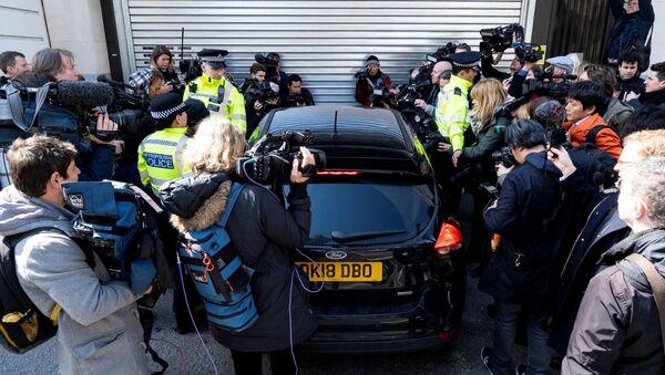 Арест Джулиана Ассанжа в Лондоне, 11 апреля 2019 - Sputnik Абхазия