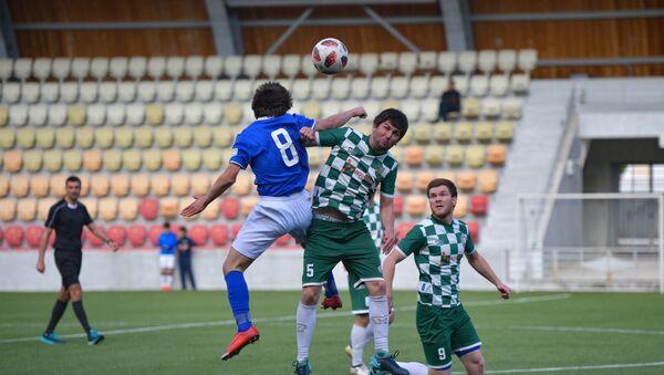 Матч чемпионата Абхазии между командами Динамо-Нарт - Sputnik Абхазия