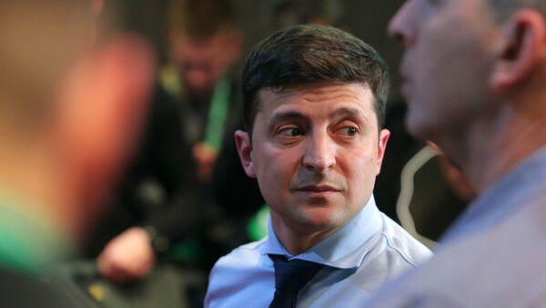 Кандидат в президенты Украины Владимир Зеленский - Sputnik Абхазия