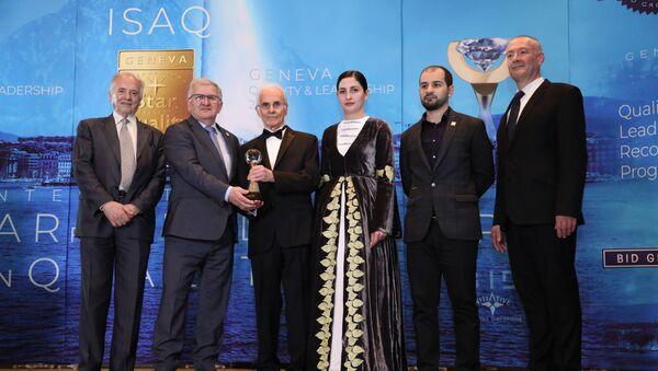 Ахаҭабзиаразы 21-тәи аконвенциа International Star for quality иаиааиз аԥхьахә рыҭара ацеремониа - Sputnik Аҧсны