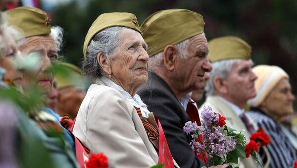 Военный парад, посвящённый 72-й годовщине Победы, в городах России - Sputnik Абхазия