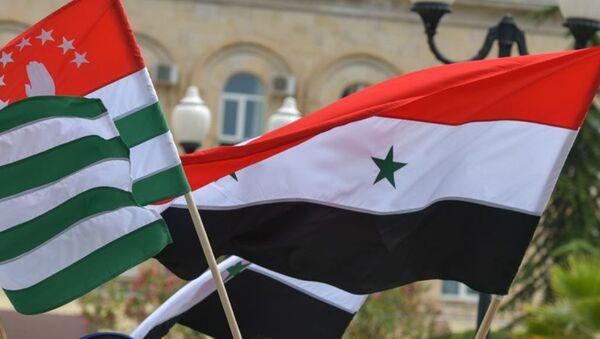 Признание Сирией Абхазии - Sputnik Аҧсны