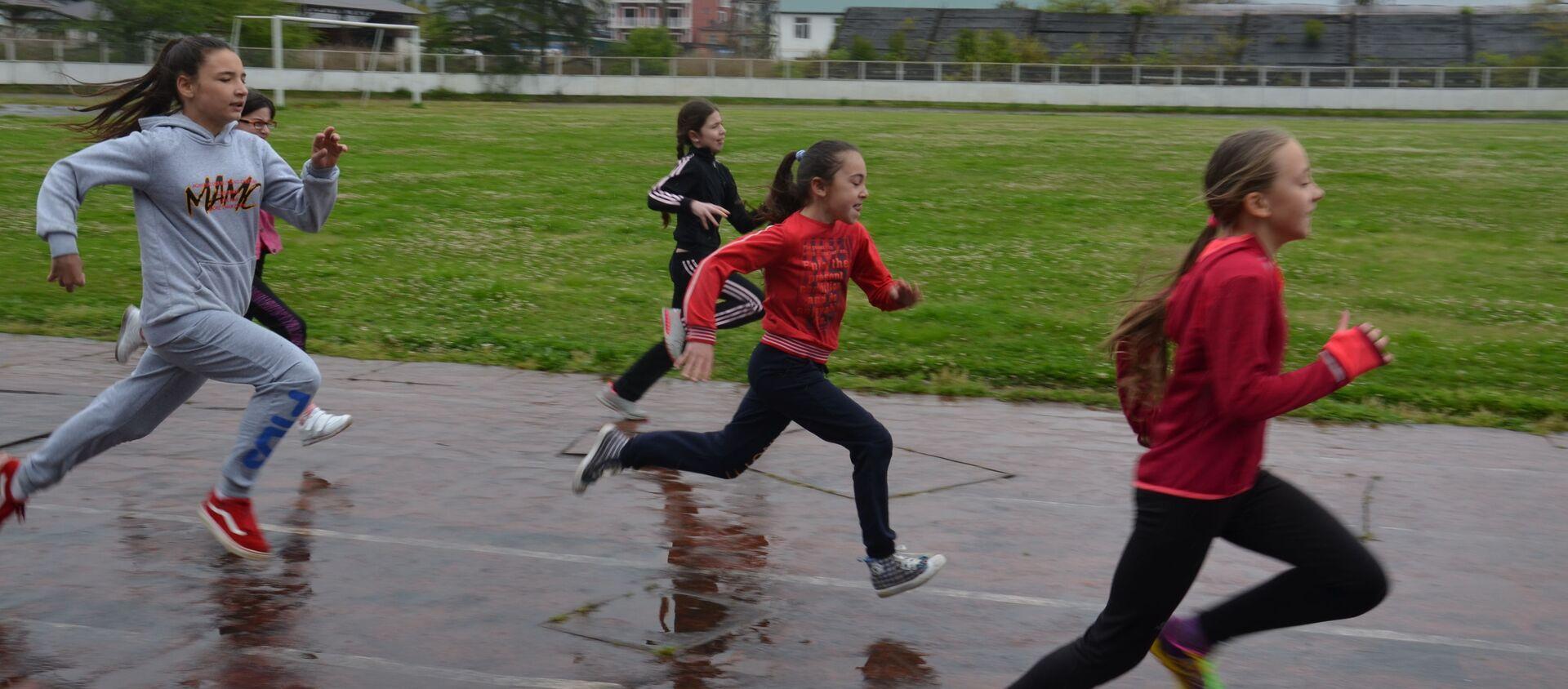 Республиканский турнир по легкой атлетике памяти Саиды Гунба, 20 апреля 2019 - Sputnik Абхазия, 1920, 20.04.2019