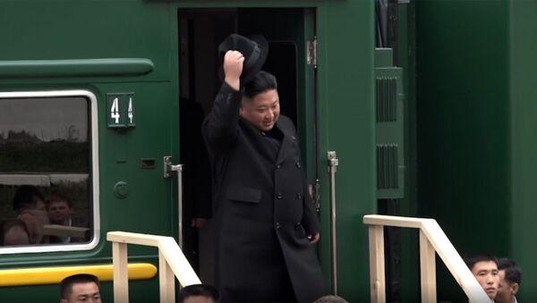 Ким Чен Ын  - Sputnik Аҧсны
