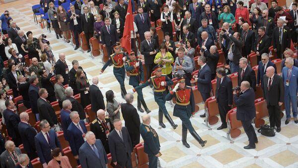 IX Международный форум Победителей Великая Победа, добытая единством - Sputnik Абхазия