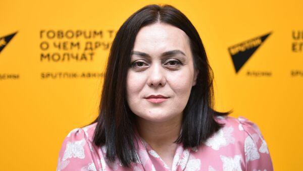 Аҳақьым-ендокринолог Есма Асланӡиаԥҳа - Sputnik Аҧсны