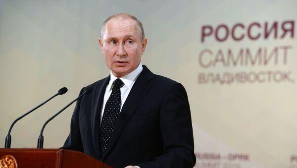 Президент РФ В. Путин встретился с лидером КНДР Ким Чен Ыном - Sputnik Абхазия