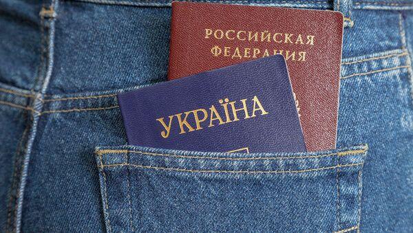Паспорт Росси и Украины - Sputnik Абхазия